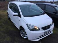 seat mil 2012 12 plate 1.0 ecomotive 3 door white ex company car service history