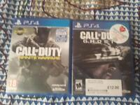Call of duty infinite warfare and ghosts