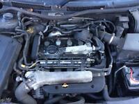 1.8 20 valve turbo engine running