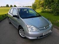2004 Honda Civic 1.6 - 12 MONTHS MOT - Full Service History - Very Good Condition