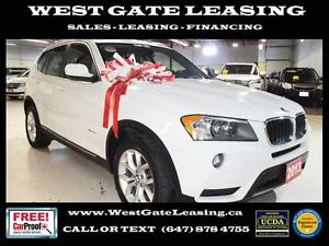 2013 BMW X3 | SUNROOF | AWD |