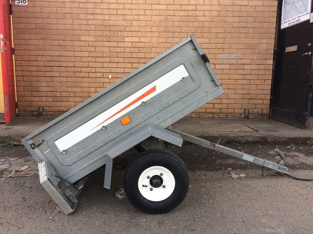 Erde 122 Tipping Trailer Brand New Wiring Loom Good Tyres Cover Nice