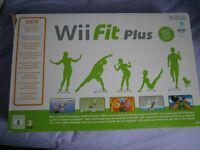 Wii Fitness Board Boxed With Wii Fit Game
