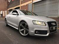 Audi A5 2011 2.0 TDI Black Edition 2 door COUPE, HUGE SPEC, LED PACK, SAT NAV, LOW MILES, WARRANTY
