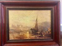 Ship painting picture 19X15 inches £20
