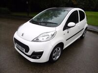 Peugeot 107 ENVY LOOK @ THE MILEAGE (white) 2013