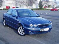 2003 Jaguar X-Type 2.1 V6 Se Auto. Extensive Service History. Mot October. 79000 Miles Only.