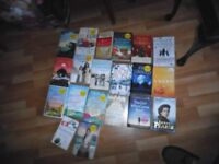 Paperback Books , chick lit / thrillers over 40 + Books