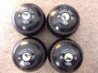 Set of 4 Drakes Pride 'Professional' Bowls, size 5