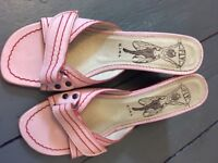 Fly London Pink Sandals size 5