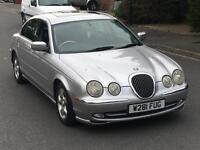 2000 JAGUAR S-TYPE 3.0 V6 IMMACULATE £1000 JUST SPENT RECON GEARBOX LOW MILEAGE YEAR MOT S TYPE