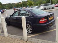 BMW 325 es 2002 low mileage 240 bhp