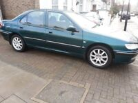 2003 Peugeot 406 S 1.8 Petrol manual. A/C. One year MOT. Ideal for export