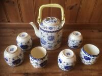 Chinese Tea Set.