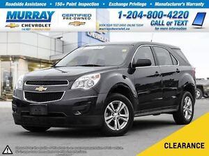 2013 Chevrolet Equinox LS *OnStar, Climate Control*