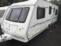 Magnum mendip 636 2008 twin axle 5/6 berth touring caravan