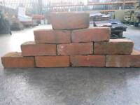 Reclaimed hand made bricks