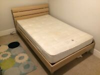 John Lewis Small Double Bed & Matress - Excellent condition
