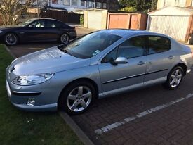 2005 Peugeot 407 2.0 HDi Executive 4dr Automatic F/S History 1F Keeper @ 07445775115 @ 07725982426@