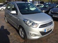 Hyundai i10 1.2 Active 5dr£2,995 p/x welcome FREE WARRANTY, NEW MOT