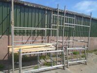 heavy duty steel scaffolding tower