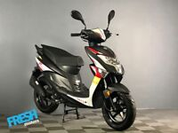 Neco One 12R Black 4 Stroke 50cc Scooter - Brand New Learner Scooter / Moped
