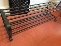 Ikea metal shoe rack