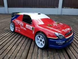 Kyosho Pureten nitro rc car C4 Rally shell