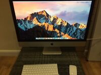 "iMac 27"" Late 2012 i5 2.9Ghz 8GB RAM Sierra OS"