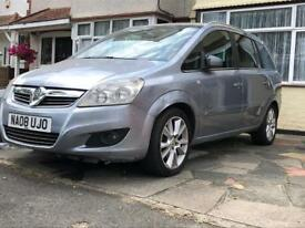 Vauxhall Zafira 1.9 diesel 7seater automatic 2008