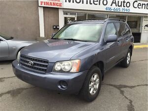 2003 Toyota Highlander LE / 4X4 WITH LEATHER SEATS