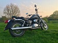 Stunning Rare Black Honda Shadow VT 125 VT125 125cc Retro Custom Cruiser. *Delivery Available*