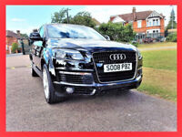 7 Seater -- 2008 Audi Q7 - 3.0 TDi -- S Line -- Diesel - Automatic - half Leather Seats - Part Ex OK