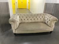 Grey chesterfield sofa, Free delivery