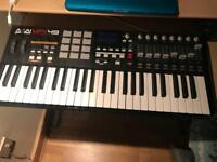 Akai mpk 49usb midi performence keyboard