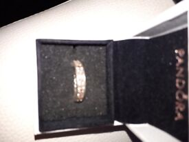 Lovely Pandora ring size 54 come's with box and gift bag