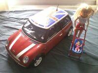 Cindy/Barbie Mini Cooper