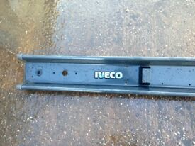 Iveco Daily backboard tailgate bumper