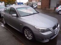 BMW 525d M Sport Auto,4 dr saloon,1 previous owner,2 keys,FSH,full leather interior,Sat Nav,