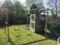 Swing set slide climbing frame **SOLD & COLLECTED