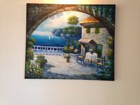 Oil on Canvas Painting -