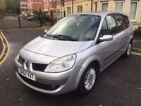 RENAULT GRAND SCENIC 1.6 PETROL,12 MONTHS MOT,SERVICE HISTORY,LOW MILEAGE.