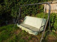 3 Seater Garden Swing Seat