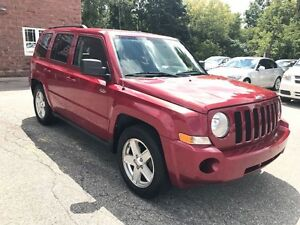 2010 Jeep Patriot North - LOW KMS - SAFETY & WARRANTY INCLUDED