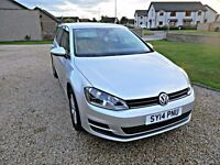 2014 VOLKSWAGEN GOLF 1.6 TDI SE 5DR (START/STOP) BLUEMOTION TECH