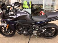 YAMAHA MT09 TRACER AS NEW 2016, WE BUY BIKES UPTO 10 YEARS OLD