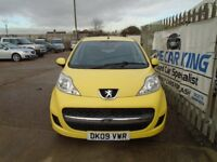 PEUGEOT 107 1.0 12v Urban 2-Tronic 5dr Auto (yellow) 2009