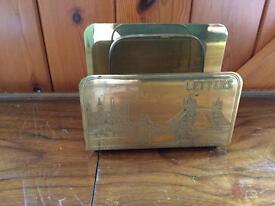 Old letter holder
