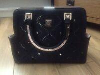 Ladies Black River Island Handbag