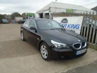 BMW 5 SERIES 2.0 520d SE 4dr (black) 2006